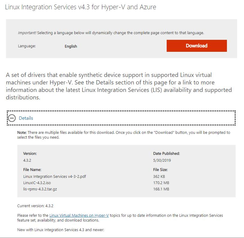 Configure Linux Integration Services on CentOS 7 6 1810 - HypervLAB