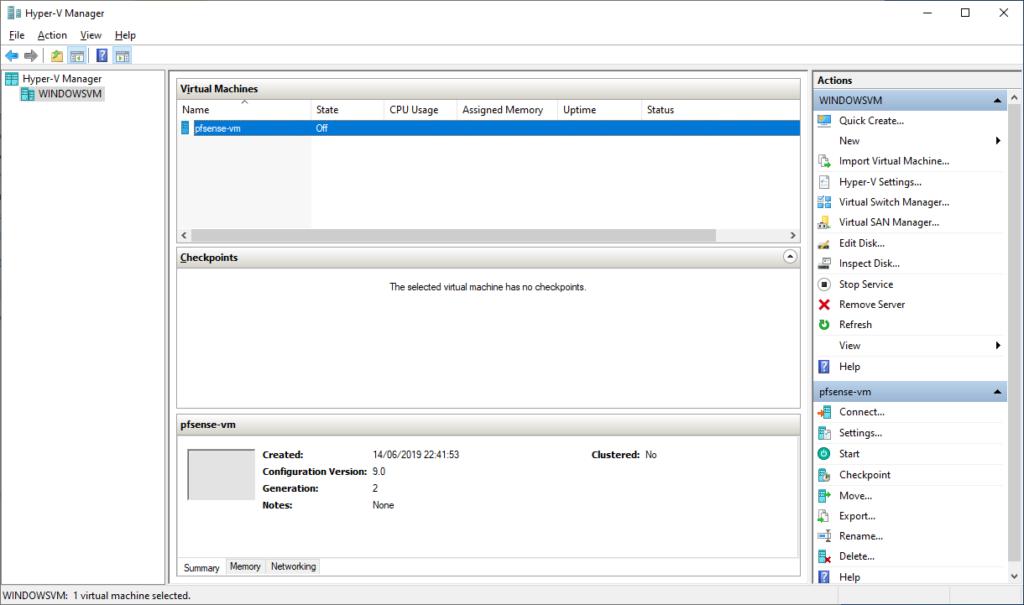 Pfsense Virtual Machine Download